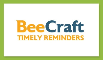 Bee Craft Timely Reminder - 8th April 2020