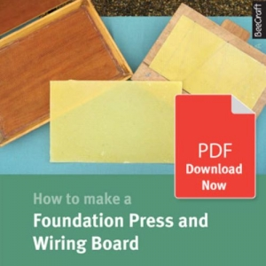 How to Make a Foundation Press and Wiring Board - Bee Craft Digital Download Booklet