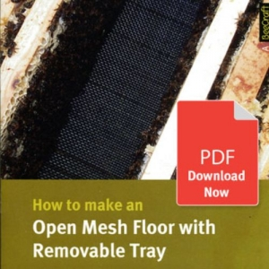 How to Make an Open Mesh Floor with Removable Tray - Bee Craft Digital Download Booklet