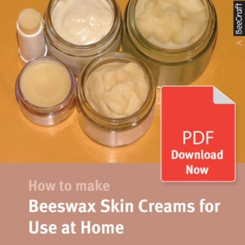 How to Make Beeswax Skin Creams for Use at Home - Bee Craft Digital Download Booklet