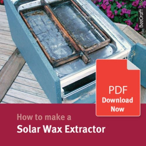 How to Make a Solar Wax Extractor - Bee Craft Digital Download Booklet